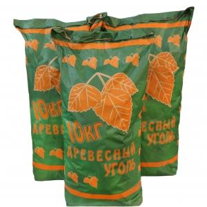 Древесный уголь 10 кг