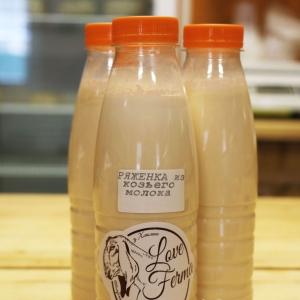 Ряженка из козьего молока.